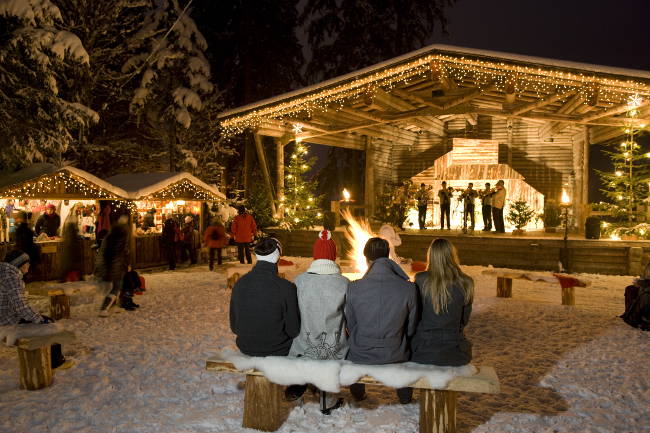 Advent am Waldfestplatz in Mayrhofen